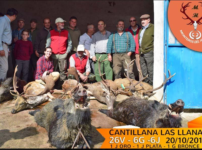 Resultado Montería Cantillana 2018 Monteros del Hito