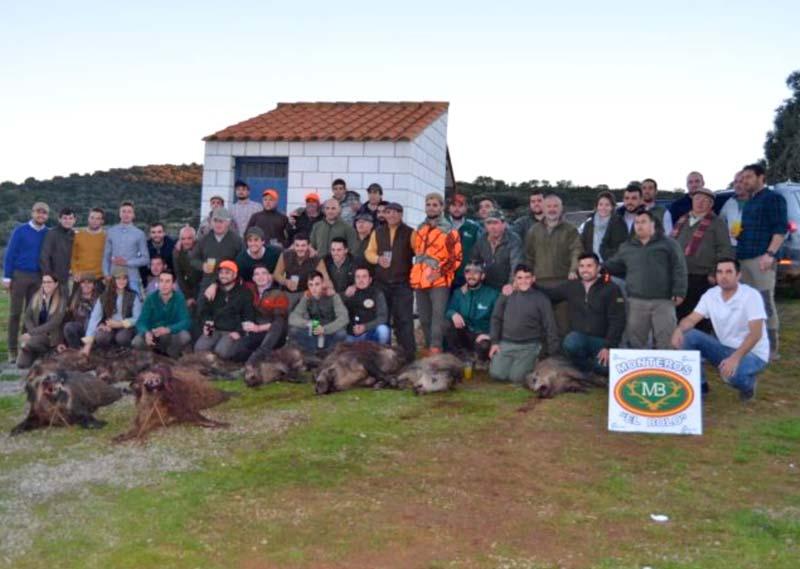 Resultado Montería El Membrillejo 2018 Monteros El Bolo