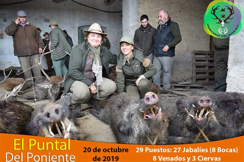 Resultado Montería El Puntal 2019 Monteros del Hito