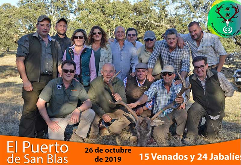 Resultado Montería Puerto de San Blas 2019 Monteros del Hito