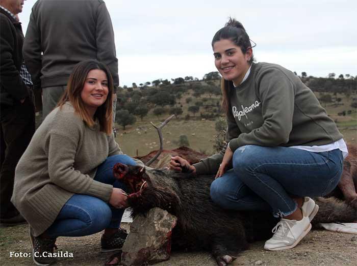 Resultado Montería Tamujoso 2019 Monteros de Encinasola