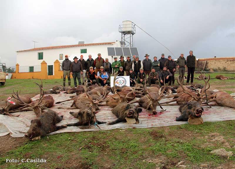 Resultado Montería Malagoncillo 2019 Monteros de Encinasola