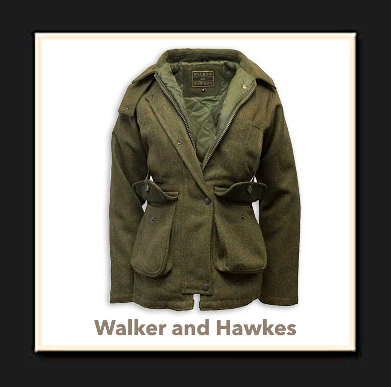 Chaqueton Caza Mujer Walker and Hawkes
