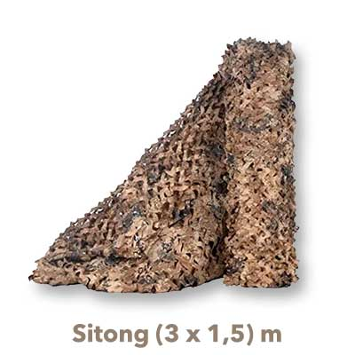 Red Camuflaje Sitong 3x15 beige