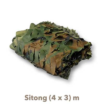 Red Camuflaje Sitong 4x3 verde