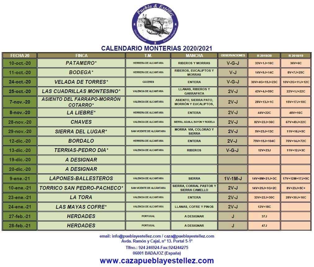 Programa Monterias Puebla Estellez