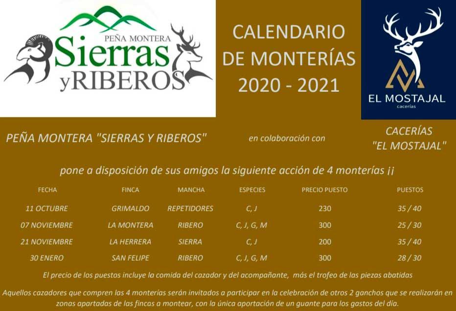 Programa Monterías Sierras y Riberos