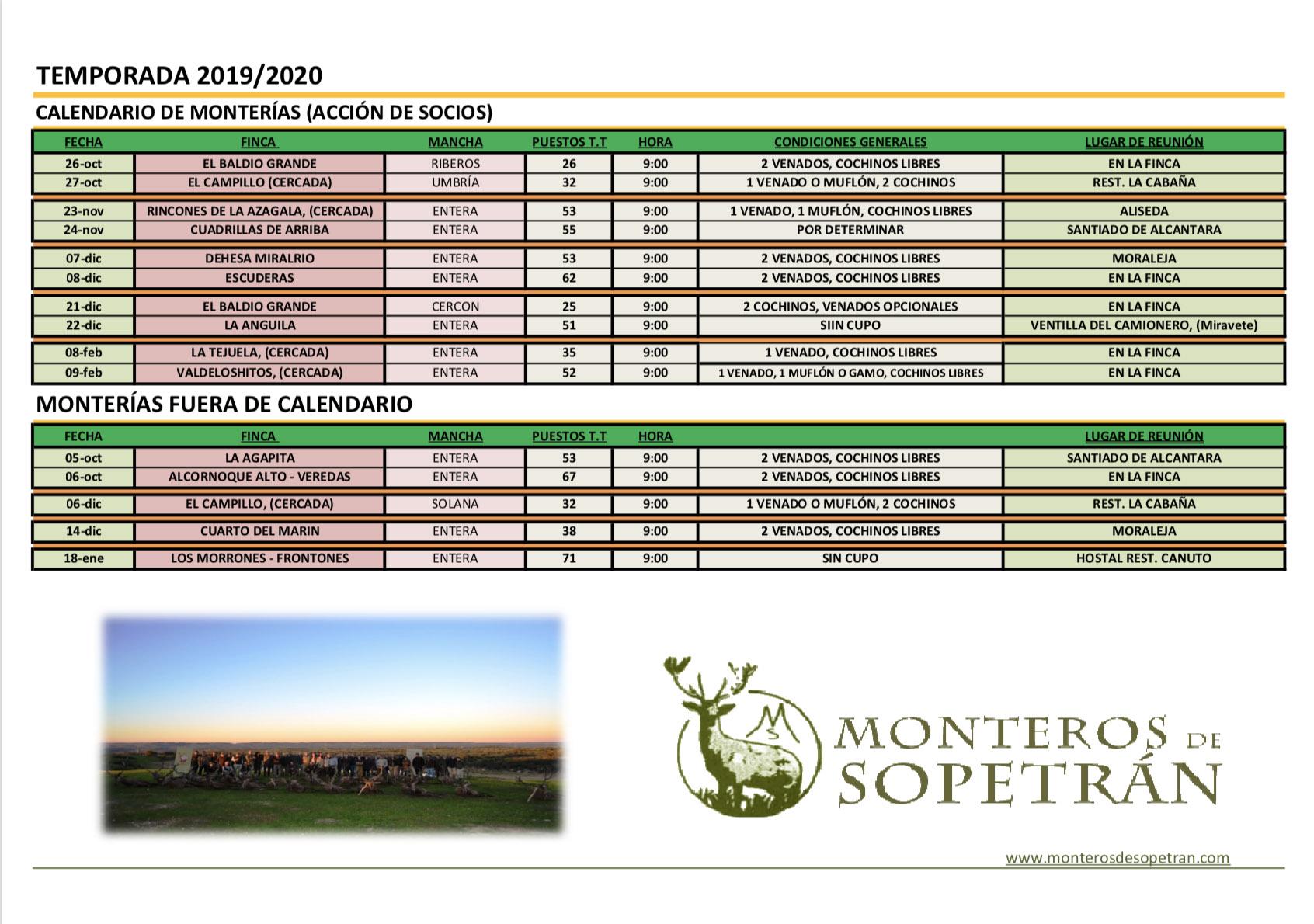Programa Monterias Monteros de Sopetran