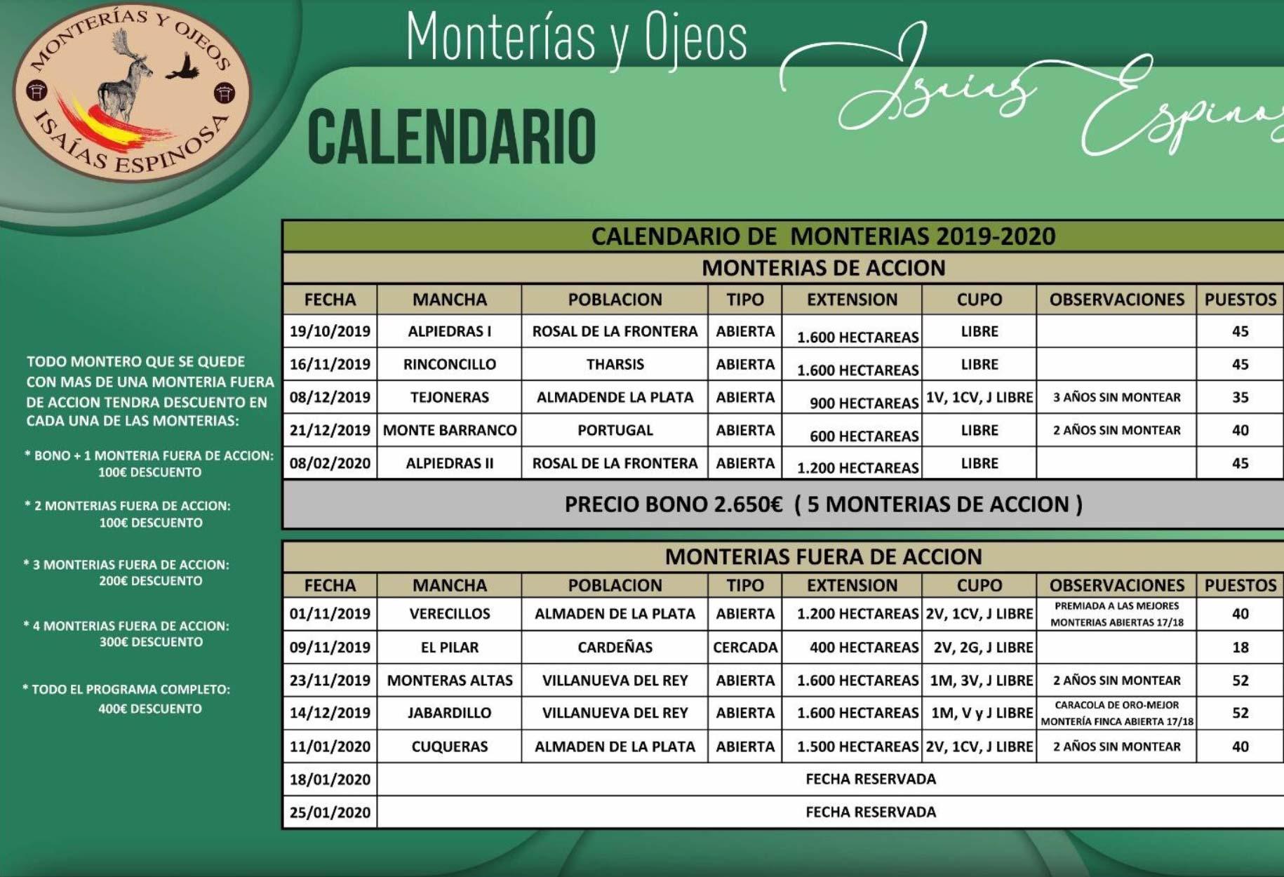 Programa Monterias Isaías Espinosa