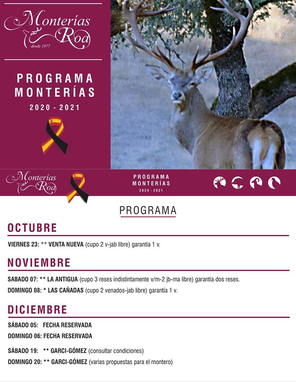 Programa Monterías Roa